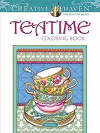 Creative Haven Tea Time Coloring Book