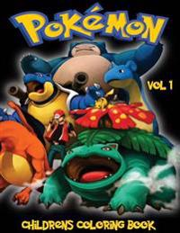 Pokemon Go Childrens Coloring Book Vol 1: In This A4 Size Volume 1 of 2 Coloring Book, We Have Captured 75 Catchable Creatures from Pokemon Go for You