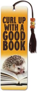 Hedgehog Beaded Bookmark