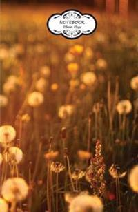 Notebook: Journal Dot-Grid, Graph, Lined, Blank No Lined: Dandelions Field: Small Pocket Notebook Journal Diary, 120 Pages, 5.5