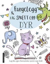 Fargelegg & lag sprett opp-dyr. Lag din egen fantastiske sprett opp-bok! - Elizabeth Golding   Inprintwriters.org