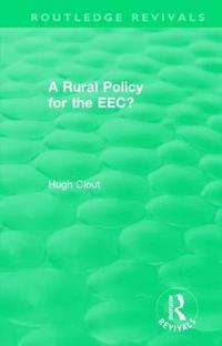 A Rural Policy for the Eec