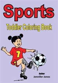 Toddler Coloring Book: Sports