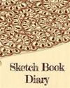 Sketch Book Diary: Bullet Grid Journal, 8 X 10, 150 Dot Grid Pages (Sketchbook, Journal, Doodle)