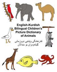 English-Kurdish Bilingual Children's Picture Dictionary of Animals