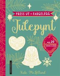Press ut + fargelegg: Julepynt