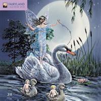 Fairyland mini wall calendar 2018 (Art Calendar)