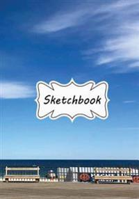 Sketchbook: Seaside: 100+ Pages of 7 X 10 Blank Paper for Drawing, Doodling or Sketching (Sketchbooks)