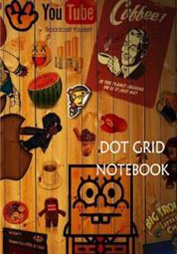 Dot Grid Notebook: Icons: 110 Dot Grid Pages, 7 X 10