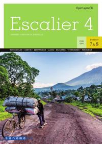 Escalier 4 Opettajan CD (OPS16)