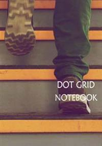 Dot Grid Notebook: Step: 110 Dot Grid Pages, 7 X 10