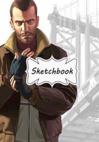Sketchbook: GTA Niko: 100+ Pages of 7 X 10 Blank Paper for Drawing, Doodling or Sketching (Sketchbooks)