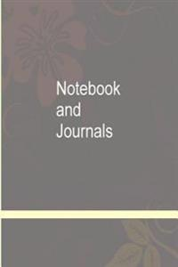 Notebook and Journals: Narrow Ruled Notebook