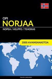 Opi Norjaa - Nopea / Helppo / Tehokas: 2000 Avainsanastoa