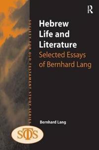 Hebrew Life and Literature