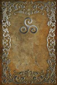 Monogram Triskee (Neopaganism) Journal