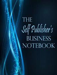 The Self Publisher's Business Notebook - Blue Sparkle