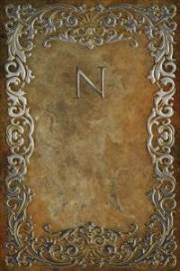 """Monogram """"N"""" Notebook"""