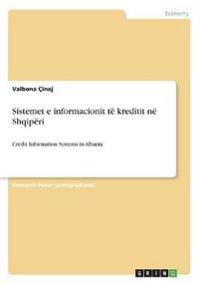 Sistemet E Informacionit Te Kreditit Ne Shqiperi