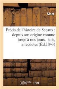 Precis de L'Histoire de Sceaux