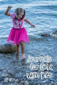 Journals for Girls with Lines: 6 X 9, 108 Lined Pages (Diary, Notebook, Journal, Workbook)