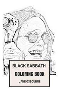 Black Sabbath Coloring Book: Macabre and Horror Metal Godfathers and Gothic Dark Inspired Adult Coloring Book