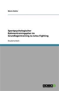Sportpsychologischer Rahmentrainingsplan Im Grundlagentraining Ju-Jutsu Fighting