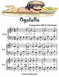 Ogalalla - Easiest Piano Sheet Music Junior Edition
