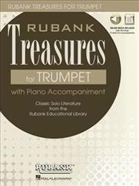 RUBANK TREASURES (VOXMAN) FOR TRUMPET BOOK/MEDIA ONLINE