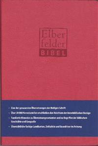 Elberfelder Bibel - Standardausgabe, ital. Kunstleder rot