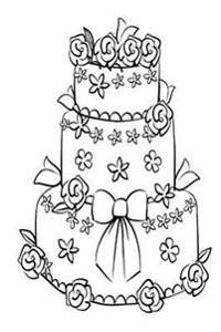 Wedding Journal Black White Wedding Cake Sketch: (Notebook, Diary, Blank Book)