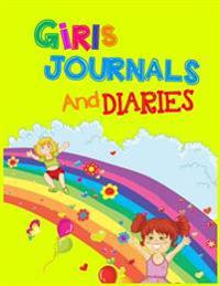 Girls Journals and Diaries: Journal Notebook Lined Pages