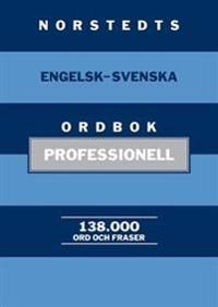 Norstedts engelsk-svenska ordbok - professionell