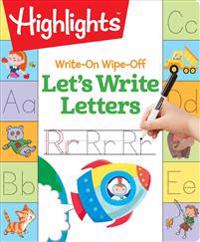 Write-On Wipe-Off Let's Write Letters
