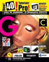 G Magazine 2017/66: 40 Adobe Photoshop CC Tutorials Pro for Digital Photographers