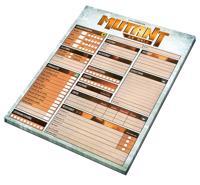Mutant År Noll - Rollformulärsblock