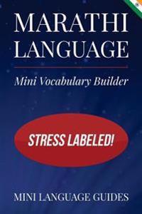 Marathi Language Mini Vocabulary Builder: Stress Labeled!