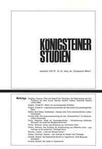 Koenigsteiner Studien