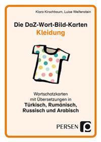 Die DaZ-Wort-Bild-Karten: Kleidung