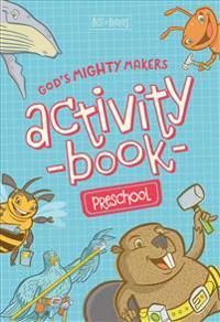 God's Mighty Makers Preschool Activity Book