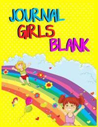 Journal Girls Blank: 8.5 X 11, 108 Lined Pages (Diary, Notebook, Journal, Workbook)