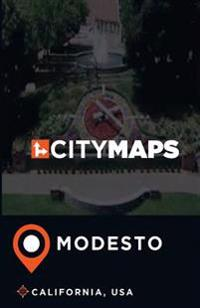 City Maps Modesto California, USA