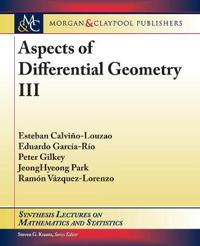Aspects of Differential Geometry III
