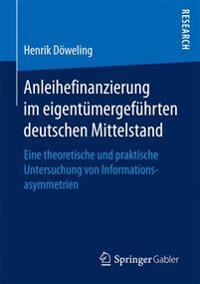 Anleihefinanzierung Im Eigent mergef hrten Deutschen Mittelstand