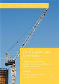 Policy Capacity and Governance