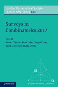Surveys in Combinatorics 2017