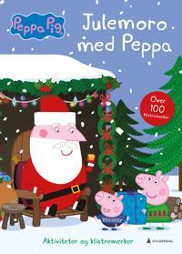 Julemoro med Peppa. Aktiviteter og klistremerker