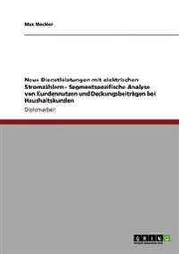 Neue Dienstleistungen Mit Elektrischen Stromzahlern - Segmentspezifische Analyse Von Kundennutzen Und Deckungsbeitragen Bei Haushaltskunden