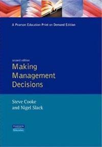 Making Management Decisions