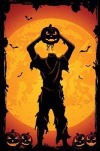 Jack-O-Lantern Zombie Grid Notebook: 150 Page Grid Notebook Journal Diary